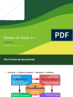 ModeloVistas 4+1 - Diagramas