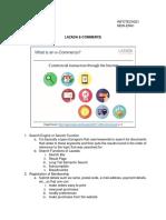 Lazada E-commerce Block Diagram