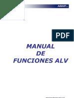 ALV - Funciones