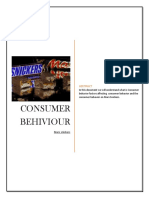 Consumer buying behavior towards  Snicker.docx