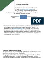 4. TURBINAS HIDRAULICAS