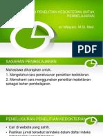 k23-Aplikasi Penelitian Kedokteran Untuk Pembelajaran