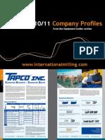 IMD2010 11 Company Profiles