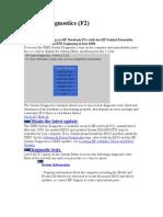 System Diagnostics (F2)