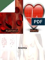 Anemia & Hipotensi