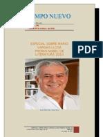 Especial Sobre Mario Vargas Llosa Premio Nobel 2010 TIEMPO NUEVO