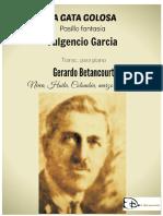 LA GATA GOLOSA. Pasillo fantasía. Original de Fulgencio García. Transc. para piano por Gerardo Betancourt.