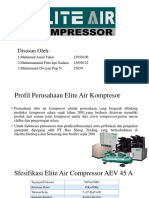 Elite Air Compressor Type EA 45 AP