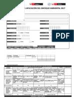 Ficha de Evaluación Enfoque Ambiental