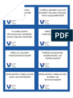 Language Voices Beginner Flashcards Questions Travelling (FINNISH)