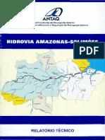 2008 Hidrovia Amazonas Solimões Relatório Técnico