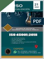 CURSO ISO 45001 -2018