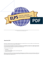 English Language Proficiency Standards