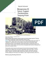 Tragedi Tanjung Priok