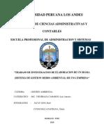 Universidad Peruana Los Andes - Investigacion Sigma