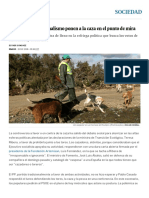 La Ecología y El Animalismo Ponen a La Caza en El Punto de Mira _ Sociedad _ EL PAÍS