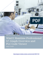WINCC Runtime Professional S7-Graph Overview and PLC Code Viewer