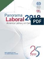 Panorama Laboral 2018 de América Latina y el Caribe