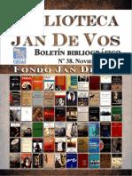 Boletín-Biblioteca Jan de Vos-Noviembre 2017