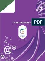 Delhi 2010 Ticketing Manual