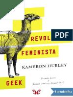 La Revolucion Feminista Geek - Kameron Hurley