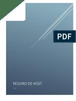 Registro Host
