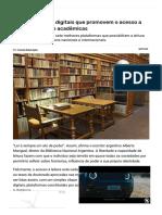 7 Bibliotecas Digitais Que Promovem o Acesso a Obras Literárias