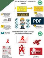 Campanha de Mês de Dezembro - Prevenção à Acidentes de Trabalho
