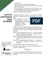 Anglo Resolve - Unifesp 2002-Correção