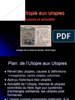 De l'Utopie Aux Utopies... Georges Bertin.