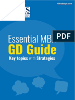 essential GD Guide Key Topics With Strategies