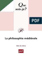 (Que sais-je_ 1044) Alain de Libera-La philosophie médiévale-Presses universitaires de France (2001).pdf