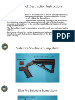 ATF Bump Stock Destruction Instructions for Bump Fire Stocks with Devices Destruction Diagrams