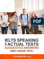 IELTS Speaking Actual Tests (May-August 2018) Www.afarinesh.org ( PDFDrive.com )