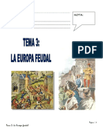 Historia La Europa Feudal