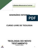 SEMINÃ_RIO INTERNO - Teologia Do Novo Testamento (2)