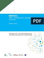 Manual de Formação UFCD 3376 - Serviços de alojamento hoteleiro como área de trabalho