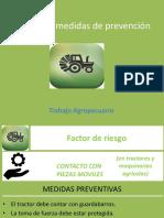 Riesgos y medidas de prevención agro