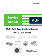 Daikin MXS air conditioners service manual