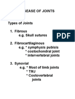 Disease of Joints