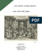 16th Century Music