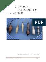 E-BOOK Tipos de Pendulos