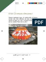 C'est le cirque à Orléans !