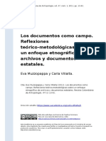 MUZZOPAPPA y VILLALTA  (2011). Los documentos como campo..pdf