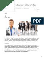 Guías de Atención en Seguridad y Salud en El Trabajo Actualizadas