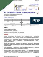 NTPP 213 Satisfacción Laboral.Encuesta de evaluación