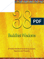 38 Buddhist Wisdoms