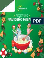 Recetario Navideño Mibanco 2018