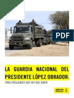 Guardia Nacional, una amenaza para la seguridad