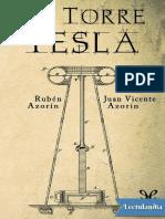 La Torre Tesla - Ruben Azorin Anton